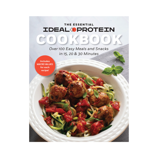 Essential Ideal Protein Cook book